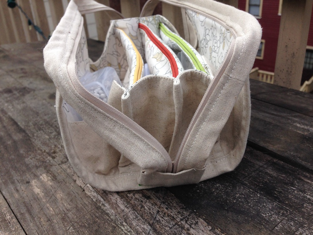 Sew Together Bag (side view)