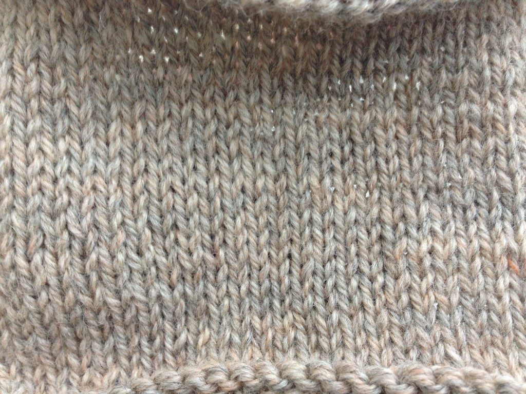 Isla Wrap test swatch