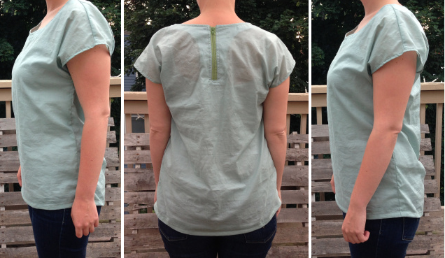 Zippy Top: Side and Back